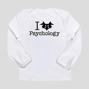 I Heart (Rorschach Inkblot) Psychology Long Sleeve