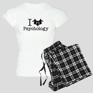 I Heart (Rorschach Inkblot) Psychology pajamas
