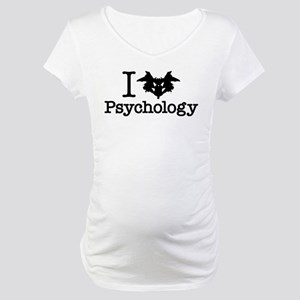 I Heart (Rorschach Inkblot) Psychology Maternity T