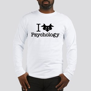 I Heart (Rorschach Inkblot) Psychology Long Sleeve