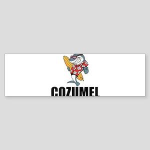 Cozumel Bumper Sticker