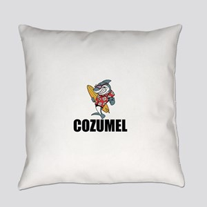 Cozumel Everyday Pillow