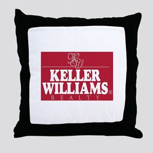 kw_stack_lite_bg red Throw Pillow