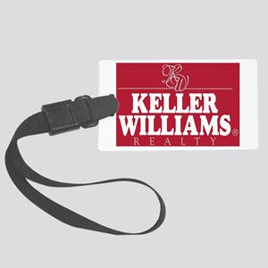 kw_stack_lite_bg red Large Luggage Tag