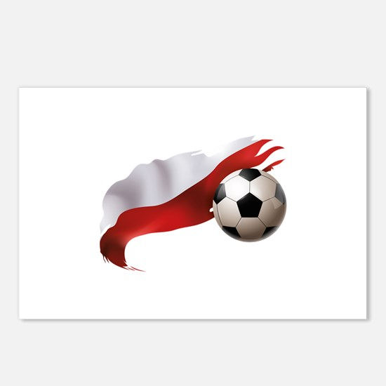 Poland Soccer Postcards (Package of 8)