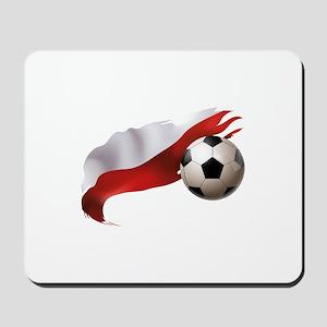 Poland Soccer Mousepad