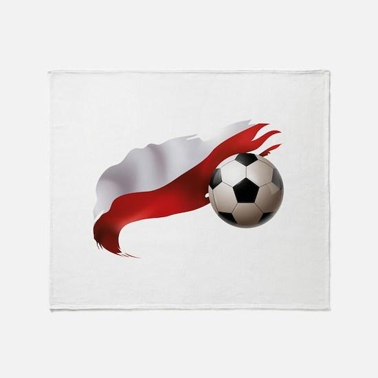 Poland Soccer Stadium Blanket