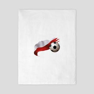 Poland Soccer Twin Duvet