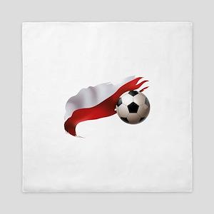 Poland Soccer Queen Duvet