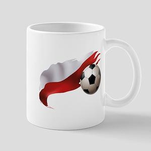Poland Soccer Mug