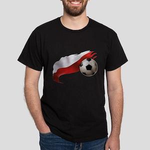 Poland Soccer Dark T-Shirt
