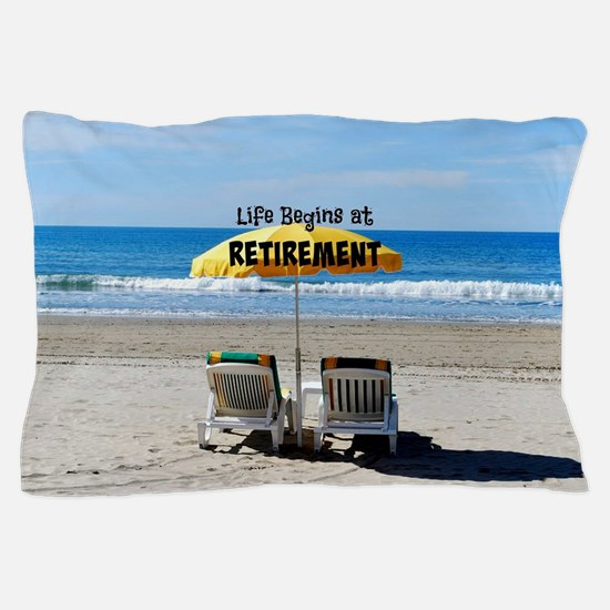 Cute Retirement Pillow Case
