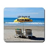 Beach chair Classic Mousepad