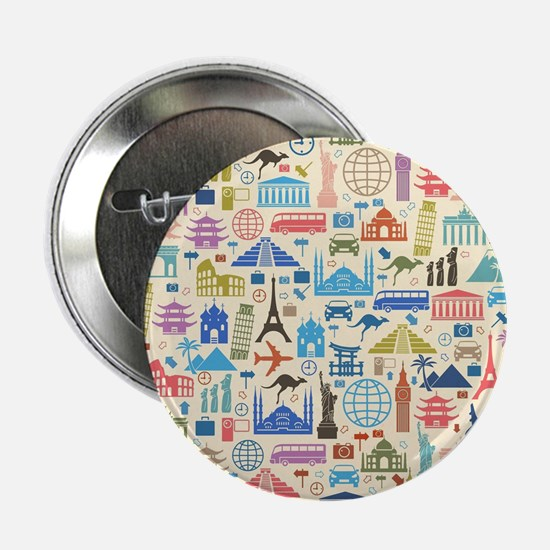 "Unique Travel 2.25"" Button"