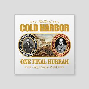 """Cold Harbor (FH2) Square Sticker 3"""" x 3"""""""