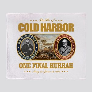 Cold Harbor (FH2) Throw Blanket