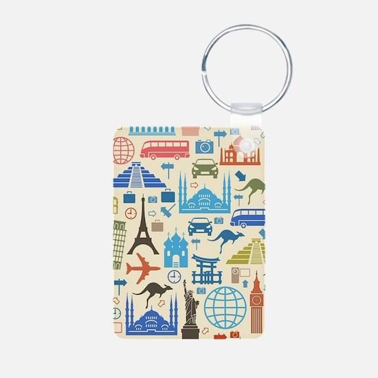 world Travel Keychains