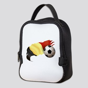 Belgium Soccer Neoprene Lunch Bag
