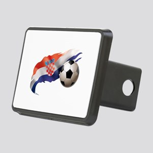Croatia Soccer Rectangular Hitch Cover