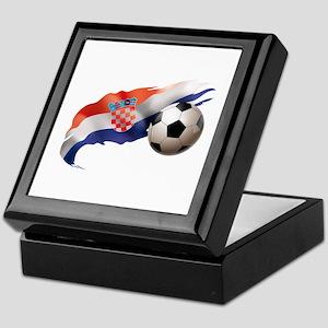 Croatia Soccer Keepsake Box