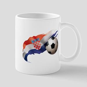 Croatia Soccer Mug
