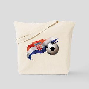 Croatia Soccer Tote Bag