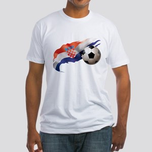 Croatia Soccer Fitted T-Shirt