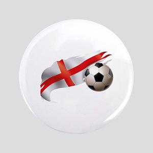 """England Soccer 3.5"""" Button"""
