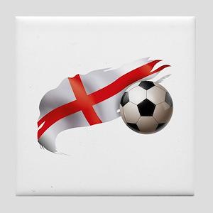 England Soccer Tile Coaster