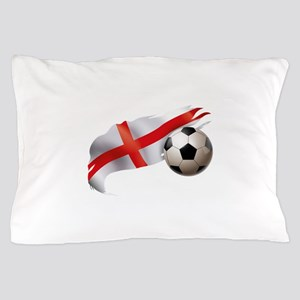 England Soccer Pillow Case