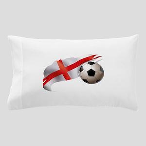 England Soccer Pillow Case