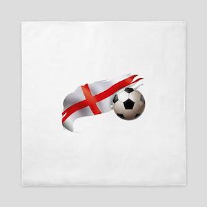 England Soccer Queen Duvet