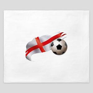 England Soccer King Duvet