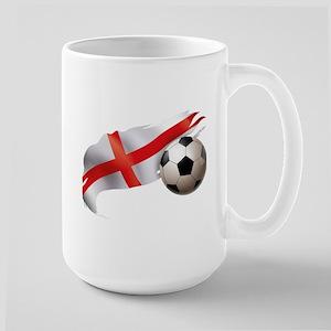 England Soccer Large Mug