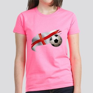 England Soccer Women's Dark T-Shirt