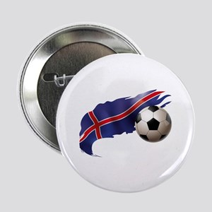 "Iceland Soccer 2.25"" Button"