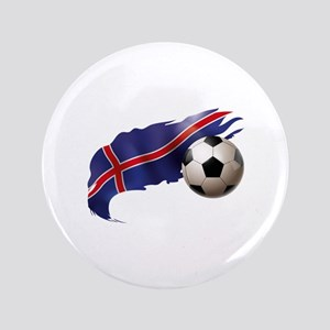 """Iceland Soccer 3.5"""" Button"""