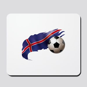 Iceland Soccer Mousepad