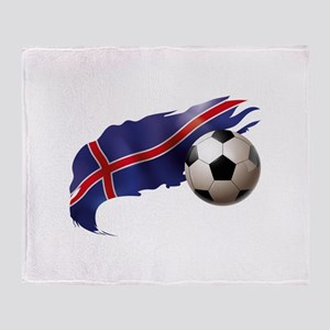Iceland Soccer Stadium Blanket