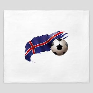 Iceland Soccer King Duvet