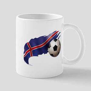 Iceland Soccer Mug