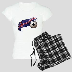 Iceland Soccer Women's Light Pajamas