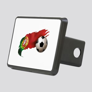 Portugal Soccer Rectangular Hitch Cover