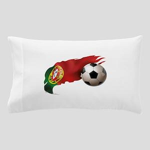 Portugal Soccer Pillow Case