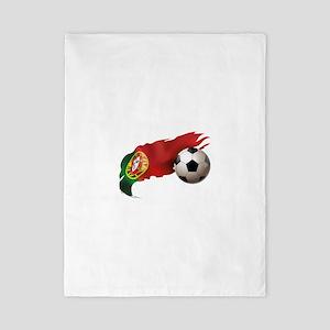 Portugal Soccer Twin Duvet