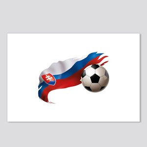 Slovakia Soccer Postcards (Package of 8)