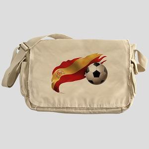 Spain Soccer Messenger Bag