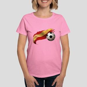 Spain Soccer Women's Dark T-Shirt