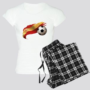 Spain Soccer Women's Light Pajamas