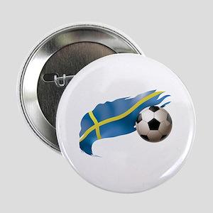 "Sweden Soccer 2.25"" Button"